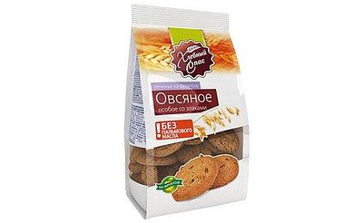 Печенье овсяное Хлебный спас Особое со злаками на фруктозе