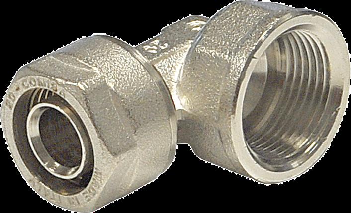 Compipe, Угольник 90° с внутренней резьбой, фото 2