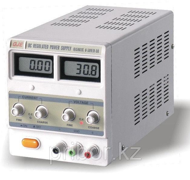 Одноканальный источник постоянного напряжения (50 В, 3 А) QJ5003E
