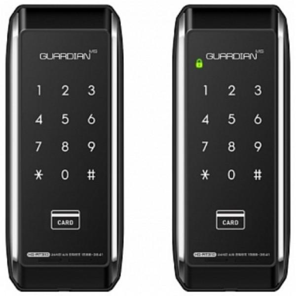 Накладной электрический дверной кодовый замок H-Gang Guardian TR610 (Smart Tap)