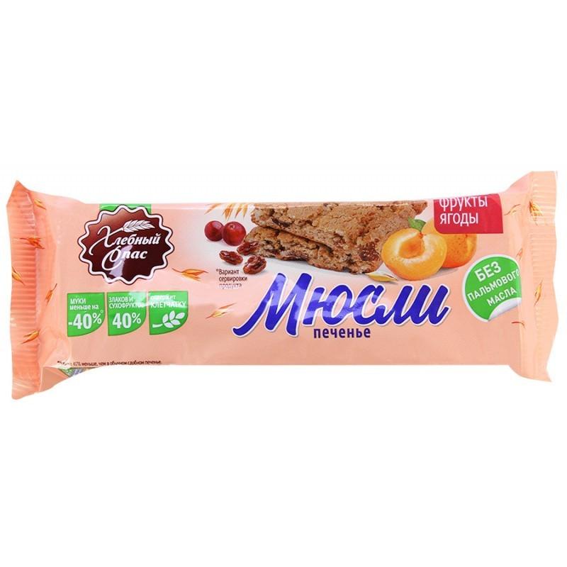 Печенье Хлебный Спас сдобное Мюсли - фрукты, ягоды