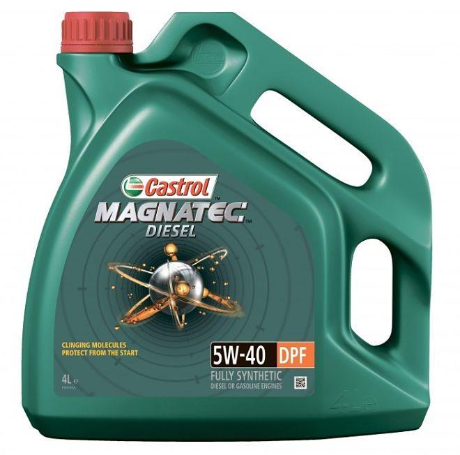 Масло моторное Castrol Magnatec Diesel 5W40 DPF 4L
