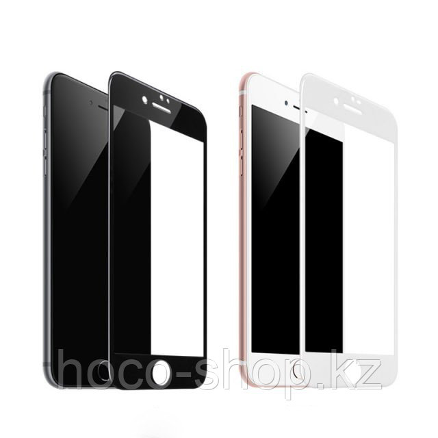 Flash attach G1 полноэкранное HD закаленное стекло для iPhone 7/8 black