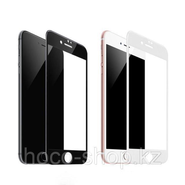 Flash attach G1 полноэкранное HD закаленное стекло для iPhone 7/8 black - фото 1