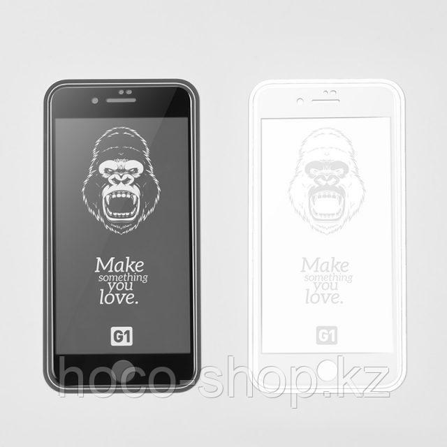 Flash attach G1 полноэкранное HD закаленное стекло для iPhone 7/8 black - фото 2