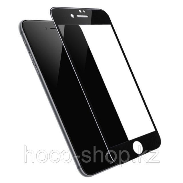Flash attach G1 полноэкранное HD закаленное стекло для iPhone 7/8 black - фото 3