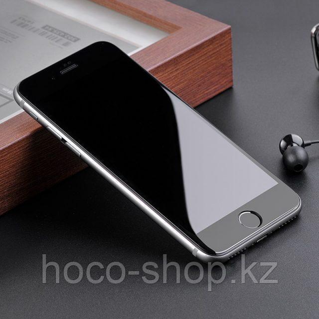 Flash attach G1 полноэкранное HD закаленное стекло для iPhone 7/8 black - фото 5