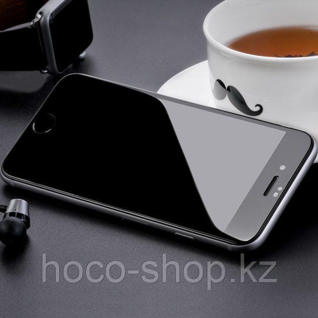 Flash attach G1 полноэкранное HD закаленное стекло для iPhone 7/8 black - фото 4