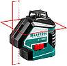"""Нивелир лазерный """"LL360-4"""", 360 градусов, 20м / 70м (детектор), сверхъяркий, KRAFTOOL 34645-4"""