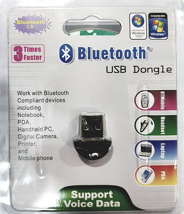 Адаптер Bluetooth USB Dongle 2.0, фото 2