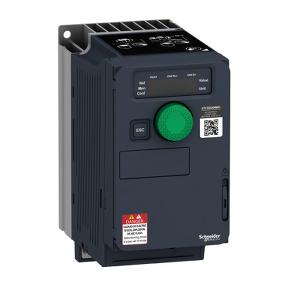 ATV320U04M2C Преобразователь частоты ATV320 компактное исполнение 0.37 кВт 240 В 1Ф
