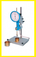 Конусный полуавтоматический циферблатный пенетрометр для грунта