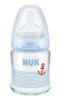 NUK Бутылка стекло FC+ 120 мл с сил с (р1)