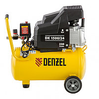 Компрессор воздушный DK1500/24,Х-PRO 1,5 кВт, 230 л/мин, 24 л// Denzel