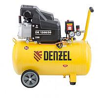 Компрессор воздушный DK1500/50,Х-PRO 1,5 кВт, 230 л/мин, 50 л// Denzel
