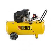 Компрессор воздушный DKV2200/100,Х-PRO 2.2 кВт, 400 л/мин, 100л// Denzel, фото 1