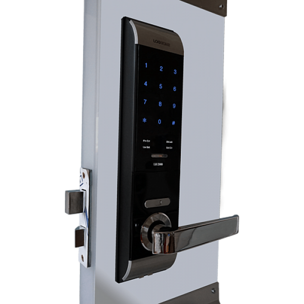 Врезной электронный кодовый замок на дверь EverNet LH2000
