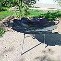 Сковорода из диска бороны D 65 (Ромашка), фото 6