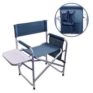 Кресло складное туристическое со столиком и органайзером Galileo