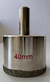 Сверло трубчатое алмазное 40мм