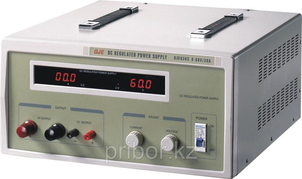 Одноканальный источник постоянного напряжения (60 В, 30 А) QJ6030S