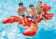 Матрац надувной для плавания Лобстер 213*137 см (надувной плот) Intex 57528
