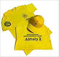 Нанесение логотипа на футболки и кепки