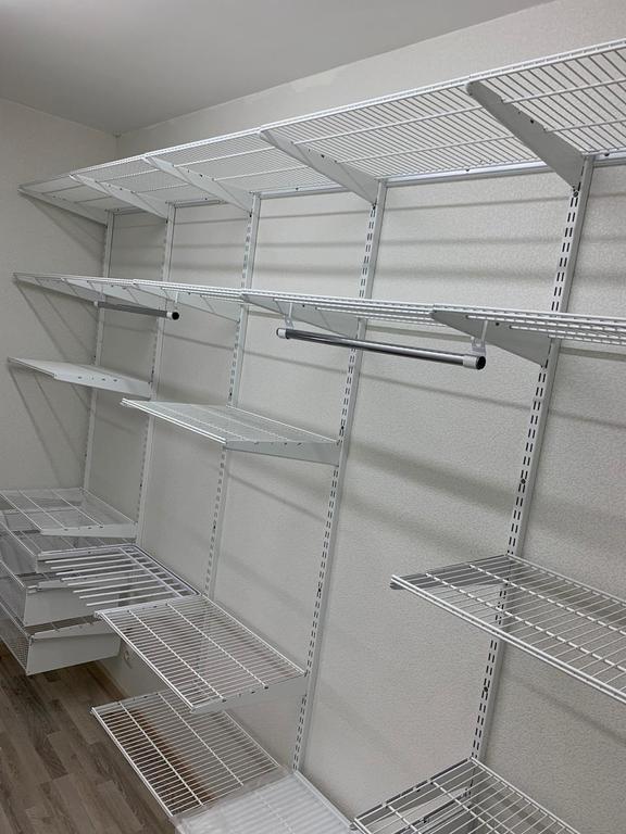 Гардеробная система, клиент Астана