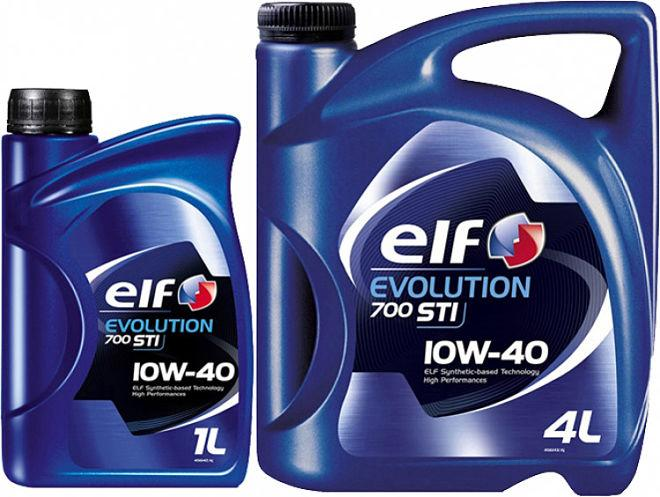 Моторное масло ELF EVOLUTION 700 STI 10W40 1л.