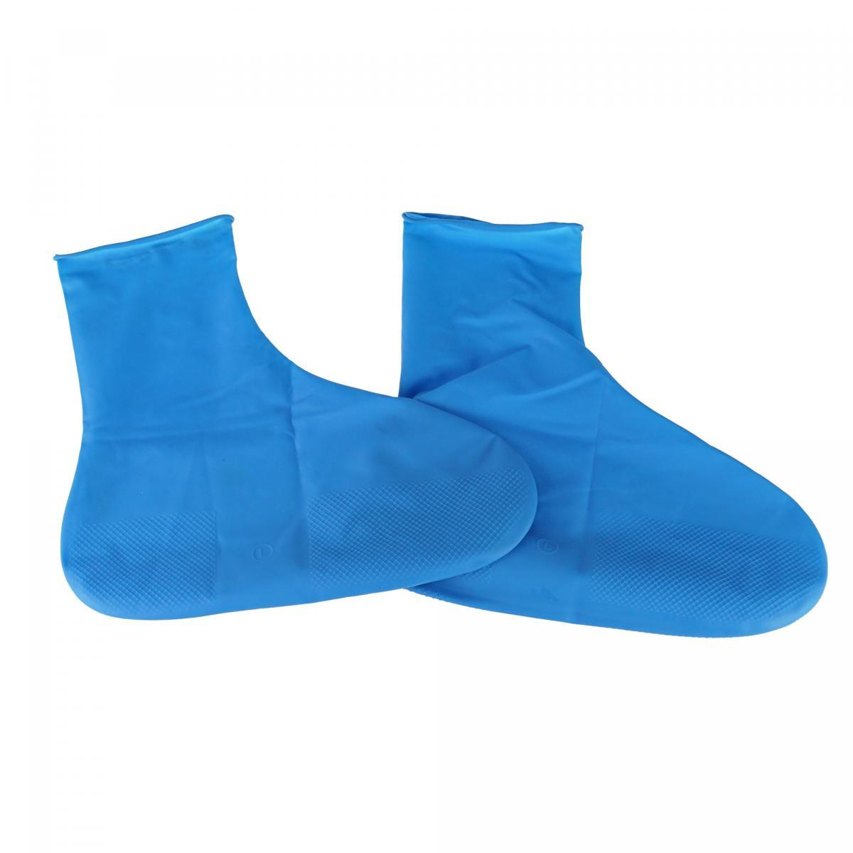 Резиновые бахилы на обувь от дождя, размер M