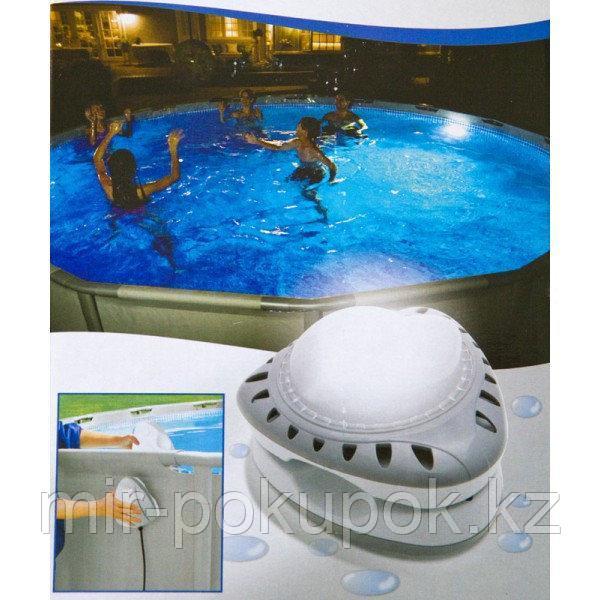 Intex 28688 лампа для бассейнов (подсветка магнитная для бассейнов настенная, светодиодная LED)