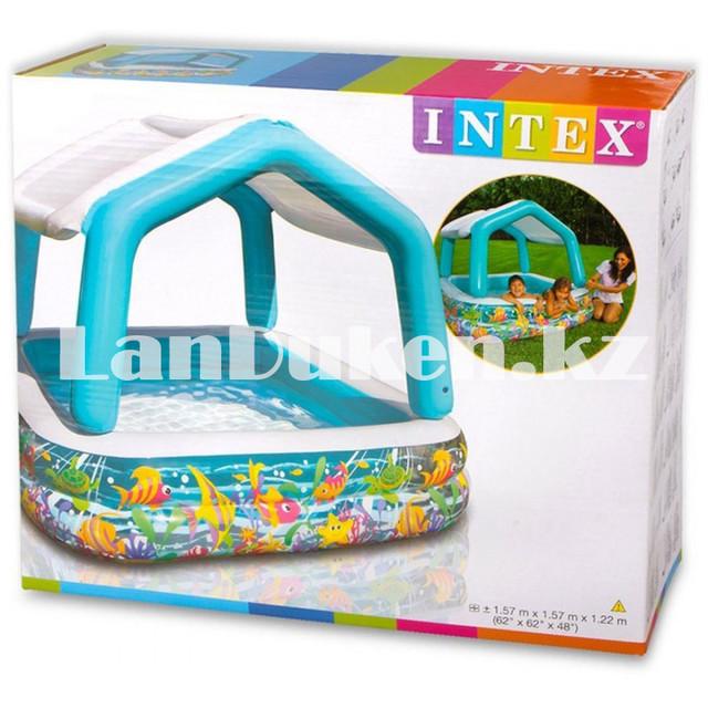 Детский бассейн Intex 57470 Sun Shade (157 х 157 х 122 см)