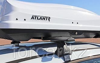 Автобокс Diamond 430 белый глянцевый 184*80*44 с двустор. открыванием, фото 2