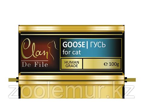 Clan De File консервы для кошек (с гусем) 100 гр.