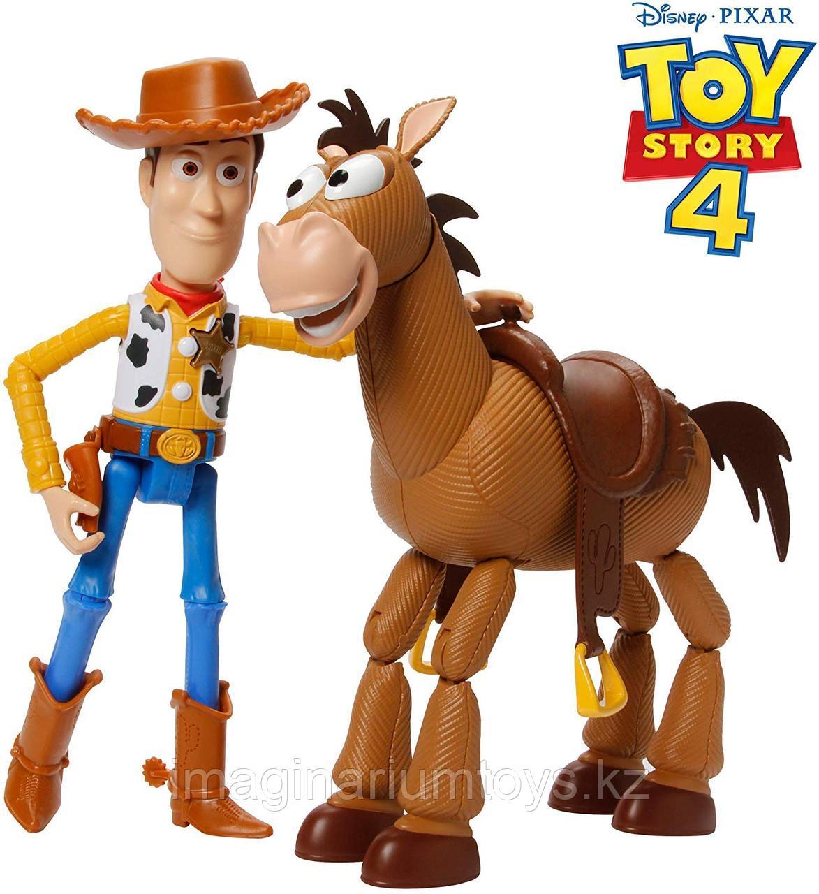 Вуди и конь Булзай из м/ф «История игрушек» Toy Story 4
