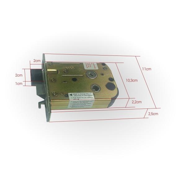 Врезной биометрический автономный кодовый замок Samsung Ezon SHS H700 (5230)