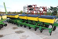 Сеялка John Deere 7000 12 рядная с сухими удобрениями бу из США