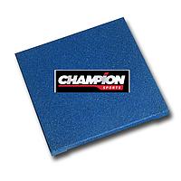 Резиновая плитка горячего прессования , 50смХ50см, 16 mm Синий, фото 1