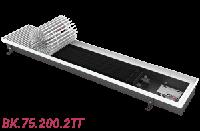 Внутрипольный конвектор отопления без вентилятора ВК.75.200.2ТГ