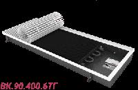 Внутрипольный конвектор отопления без вентилятора ВК.090.400.6ТГ