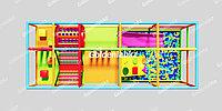 Детский игровой лабиринт 10м2
