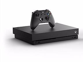 Игровая приставка Microsoft Xbox One X Black