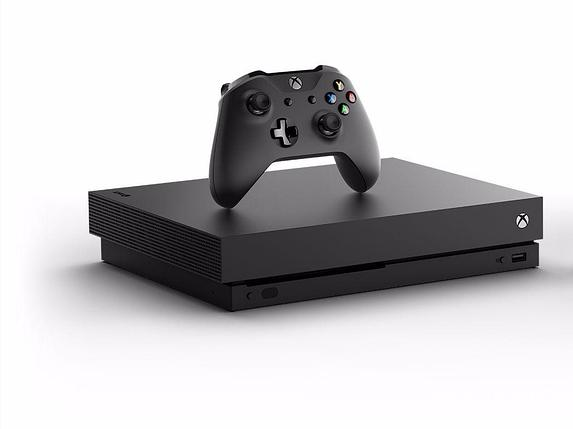 Игровая приставка Microsoft Xbox One X Black, фото 2