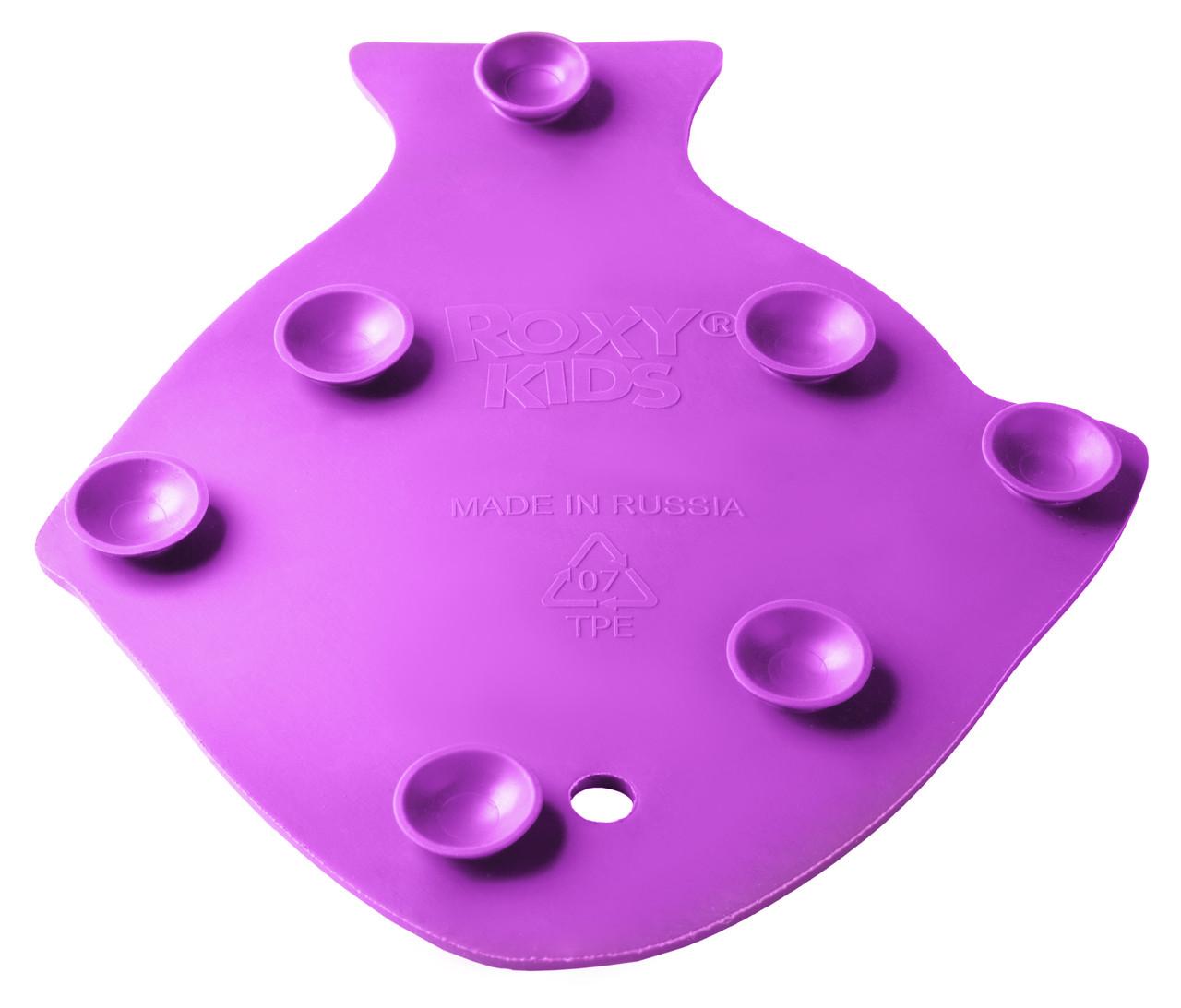 Антискользящие мини-коврики ROXY-KIDS для ванны. Цвета в ассортименте. 12 шт. - фото 4