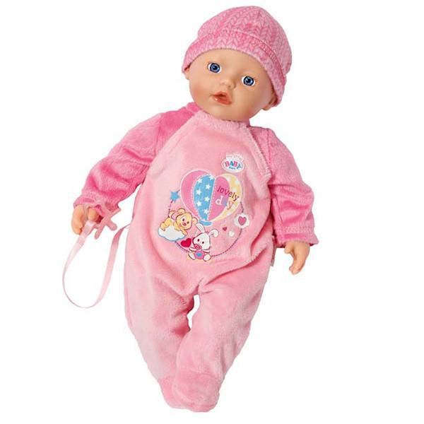 Baby Born Кукла My Little Беби Бон с соской, 32 см