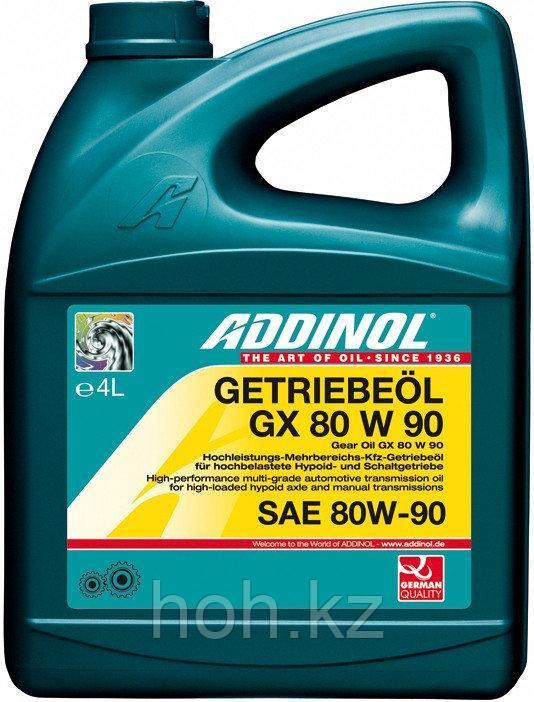 Трансмиссионное масло ADDINOL Getriebeol GX SAE 80W90