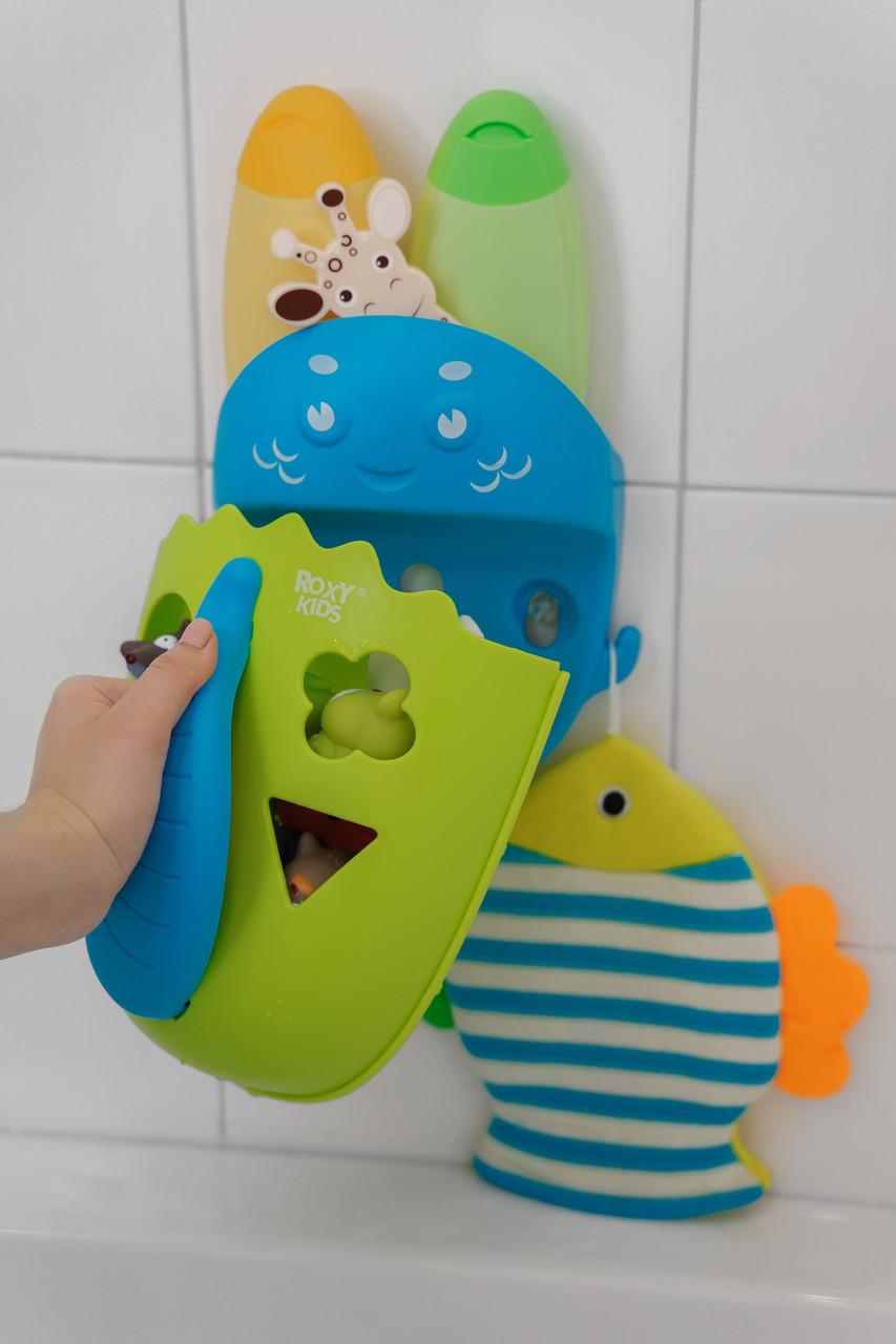 Махровая мочалка-рукавичка «Рыбка» - фото 6