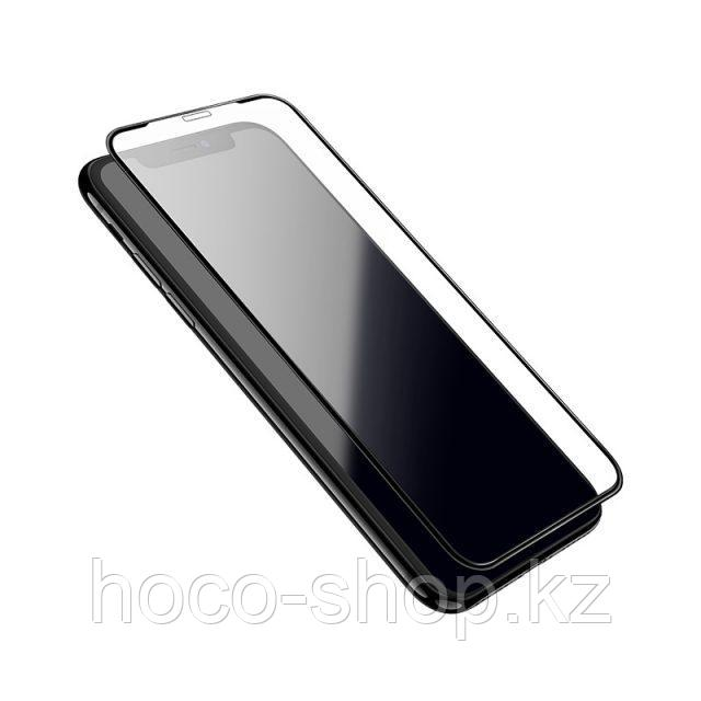 Flash attach G1 полноэкранное HD закаленное стекло для iPhone XsMax Black - фото 1