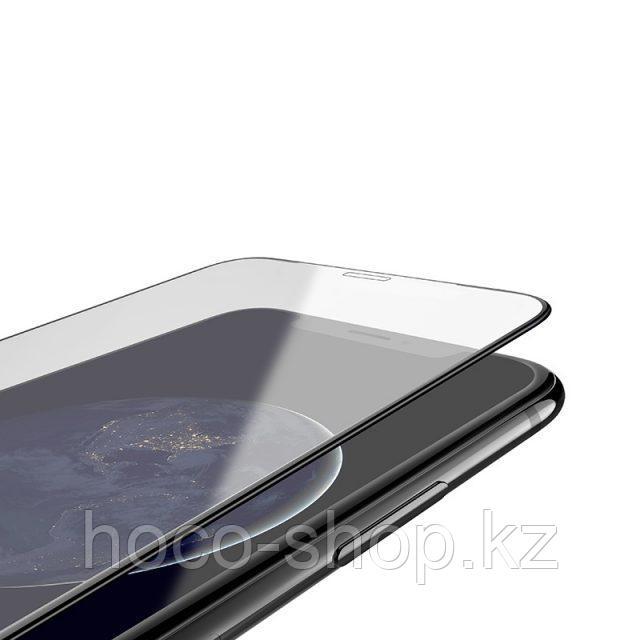 Flash attach G1 полноэкранное HD закаленное стекло для iPhone XsMax Black - фото 2