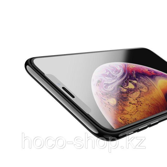 Flash attach G1 полноэкранное HD закаленное стекло для iPhone XsMax Black - фото 4